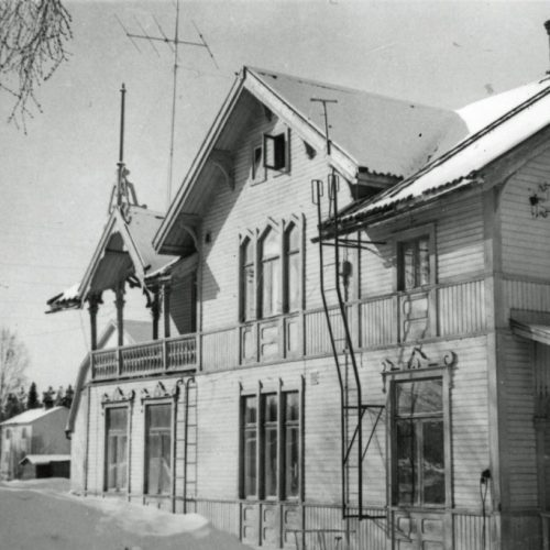 Barnekowska villan 1961
