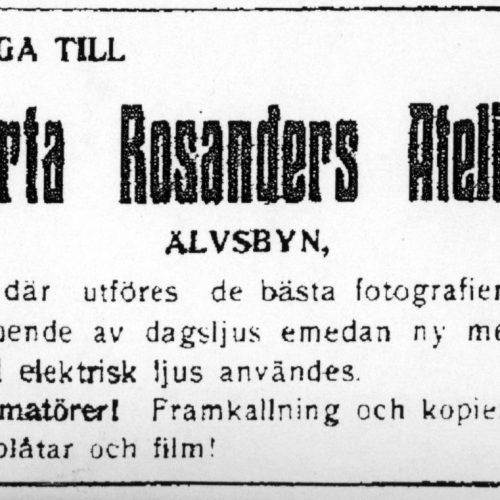 Berta Rosanders Atelier
