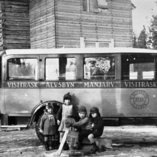 Buss Vistträsk-Älvsbyn-Manjärv-Vistträsk