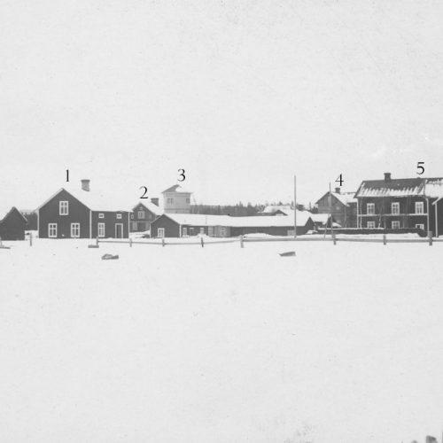 Järnvägs området på 1920 talet