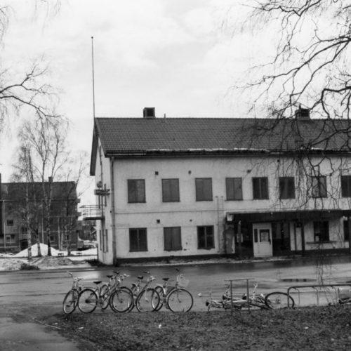 Järnvägshotellet April 1985