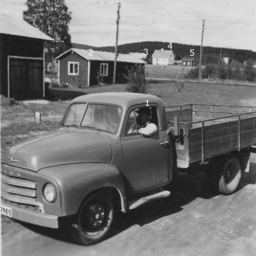 Sven Stenvalls lastbil