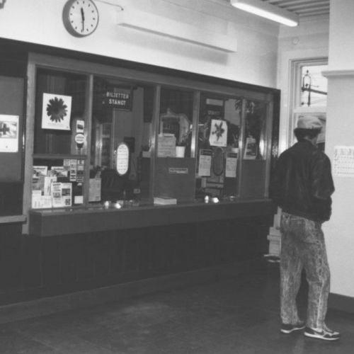 Älvsbyns järnvägsstation.