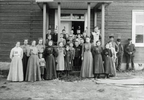 1904 Bodelistskolan Korsträsk