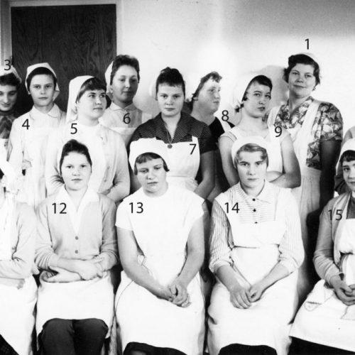 1959 fortsättnings skolan i Korsträsk