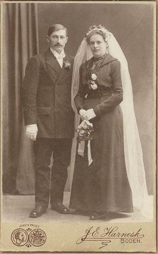 Johan Borg/Johansson och Maria Öberg
