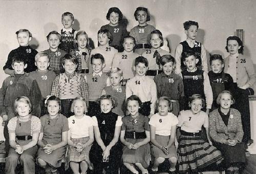 1953 Klass 5 Kvarnhedens skola