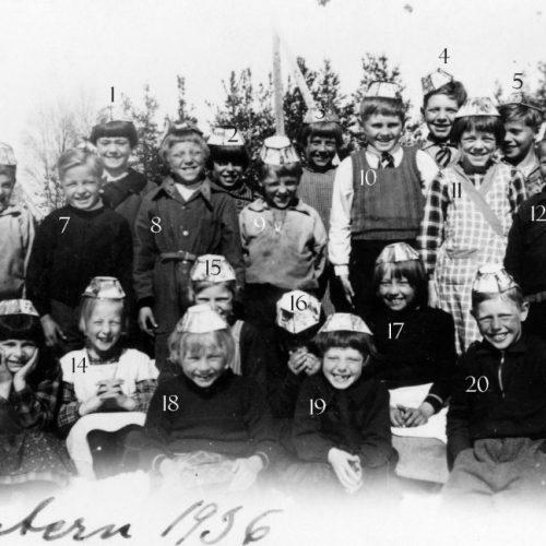 1936 klass 1 och 2 Korsträsk