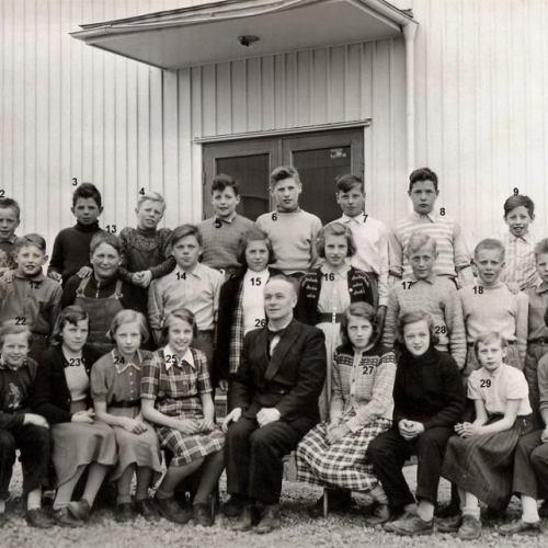 Klass 6 1953 Kvarnheden