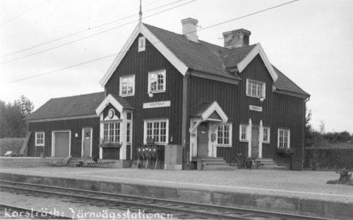 Järnvägsstation i Korsträsk