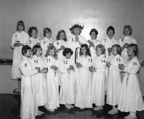1961 lucia i Korsträsk