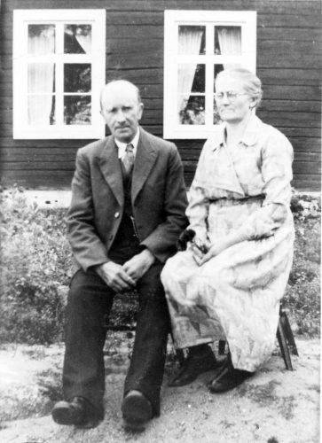 Karl och Hilma Öhman i Ulriksdal/Korsträsk.