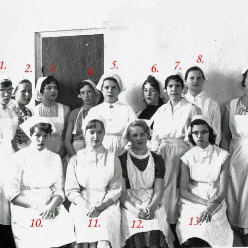 1958 fortsättningsskolan Korsträsk