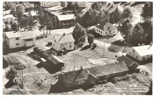 1950 vy över Korsträsk