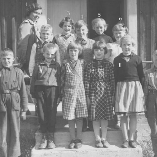 1937 klass 3-4 Korsträsk