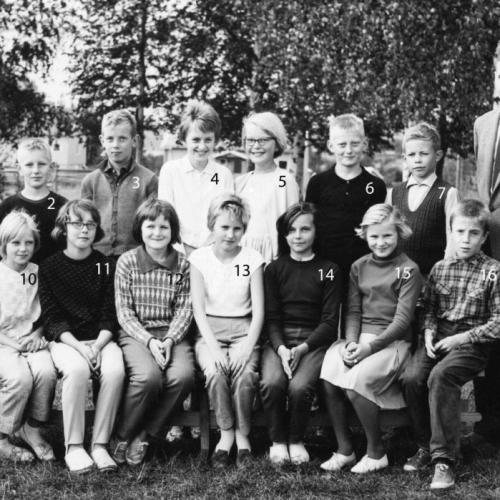 1963-1964 Klass 5 Korsträsk