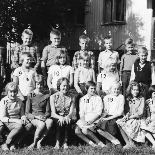 1961-62 klass 5 Korsträsk