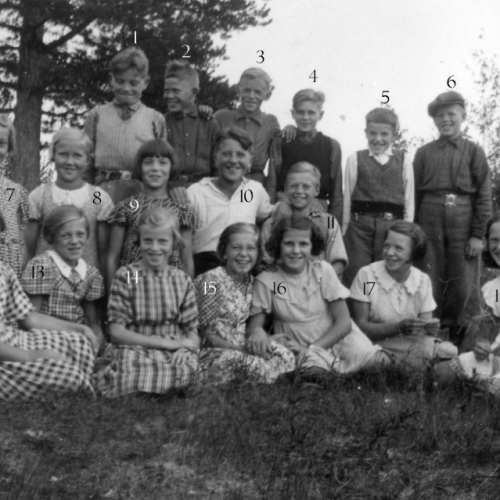 1939 klass 5 och 6 Korsträsk