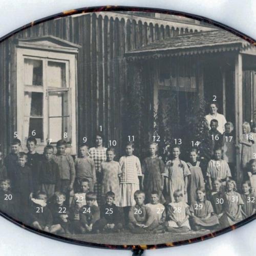 1924 skolan i Korsträskbyn