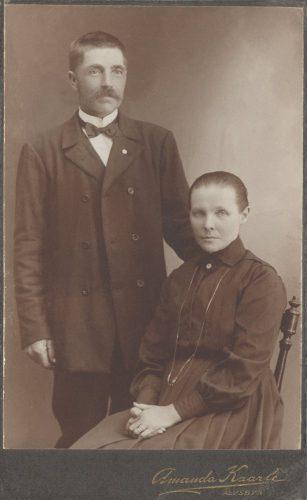 Erik Eriksson och Serafia Johansson