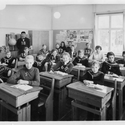 1957 skolkort Laduberg
