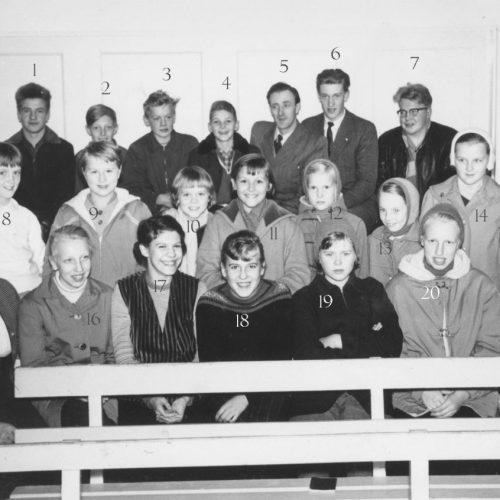 Ungdoms klassen Fyrbåken Laduberg