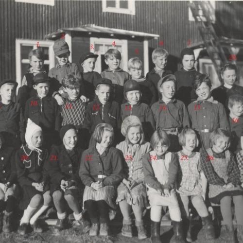 1944 klass 6 höstterminen Laduberg