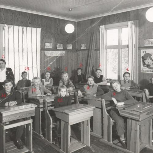 1948 klass 4-6 höst terminen Laduberg