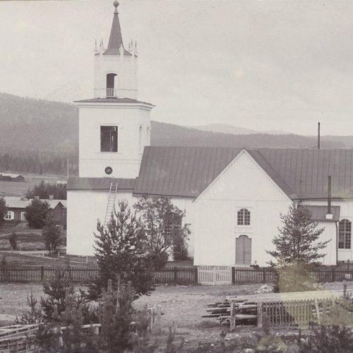 Älvsby Kyrka omkring år 1900