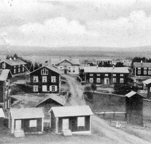 Kyrkmalmen år 1900