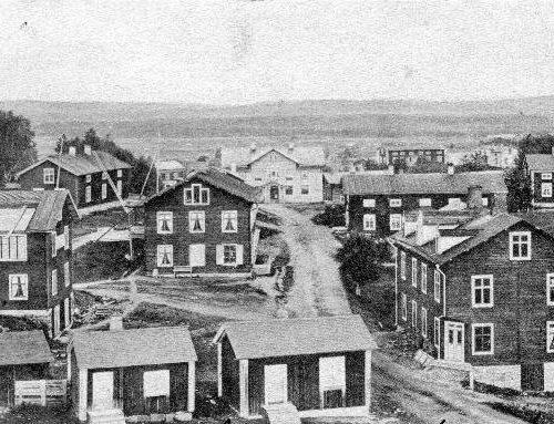 Kyrkmalmen år 1905.