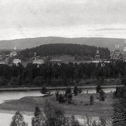 Bild över nuvarande Östermalm