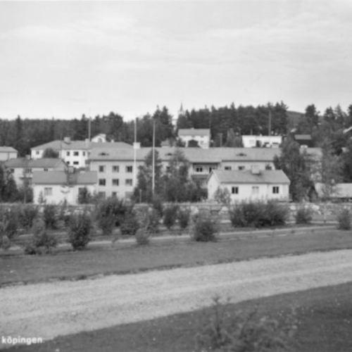 Älvsbyn Parti av köpingen