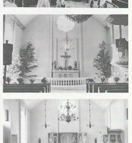 Altaret Älvsby kyrka genom tiderna