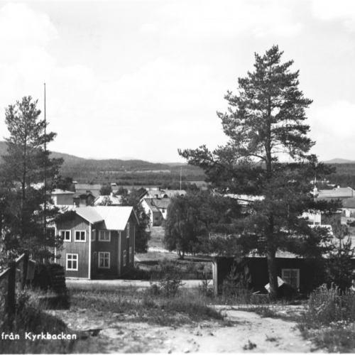 Älvsbyn Utsikt från Kyrkbacken