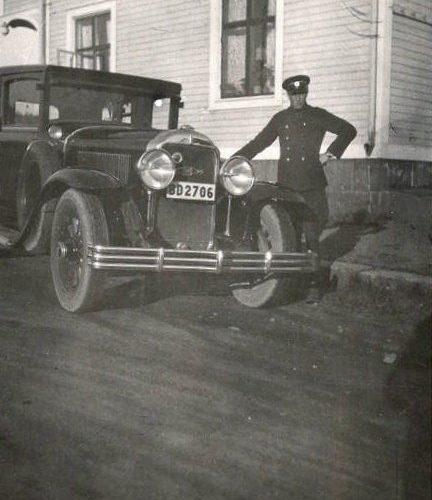 Chaufför Ernst Olsson