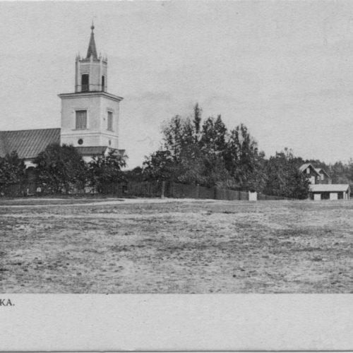 Elfsby kyrka före 1905