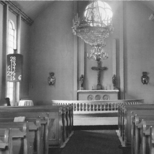 Interiör av Älvsbyns kyrka