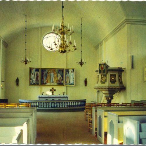Interiör av Kyrkan