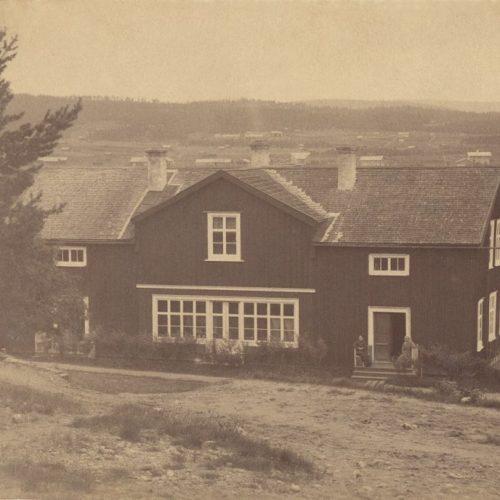 Handlare Johan Öberg hemgård