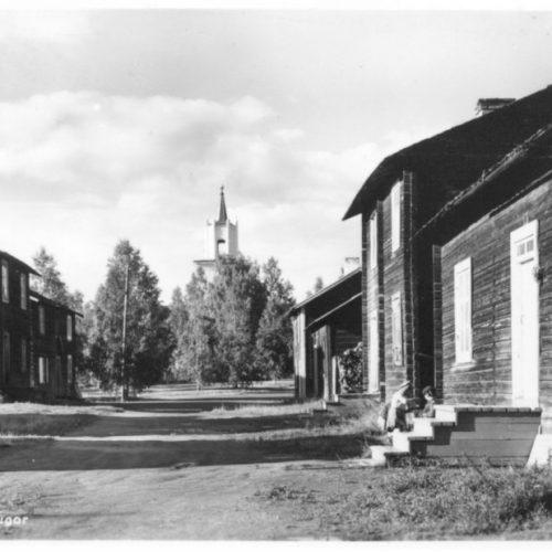 Kyrkstugor vid Älvsby kyrka