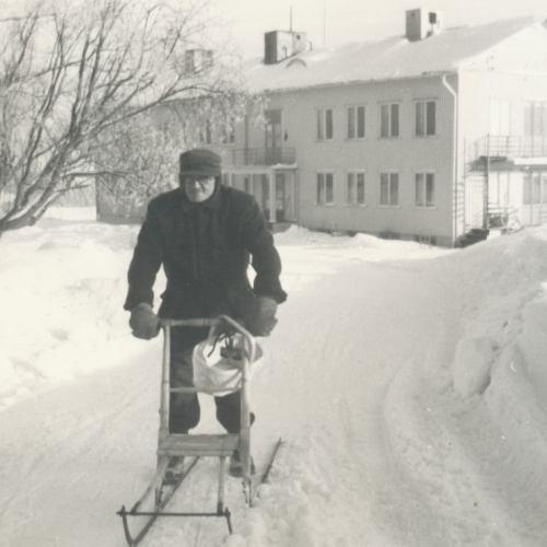 Ålderdomhemmet Friden tidigt1960-tal.
