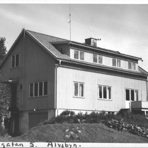 Skolgatan 5 Skicat till Häradshövding Sanne