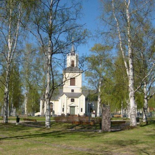 Älvsbyns kyrka år 2008