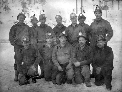 Gruvarbetare Laver 1942