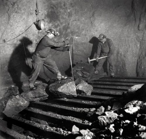 Lavergruvan mitten av 1940 talet