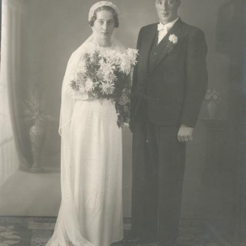 Lill-Laverträsk Anna och Ragnar Karlsson