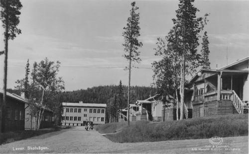 Skolvägen i Laver