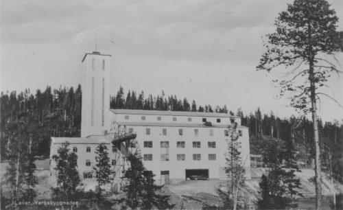 Verksbyggnaden i Laver