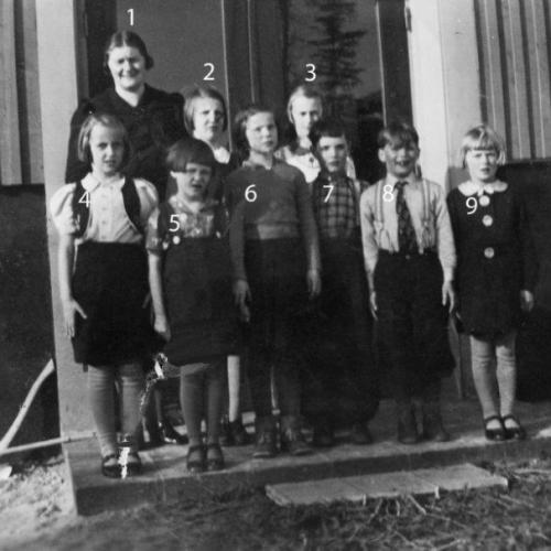 1938 klass 1-2 Laver